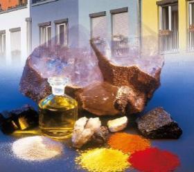 Resim 2) KEIM silikat boyalar doğal hammaddeler içerir.